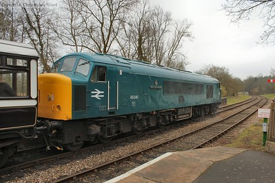 45041 waits to take her train south