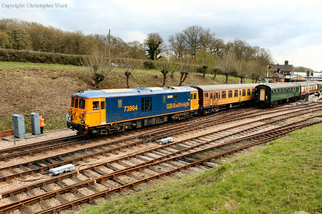 73964 leads the 4TC away