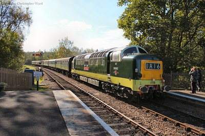 The stunning green Deltic