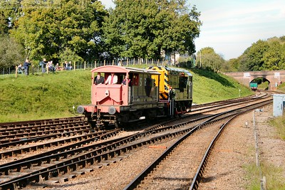 The shunter giving brake van rides