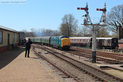 Bluebell Railway Deltic weekend - April 2015