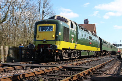 Low-angle on the Deltic