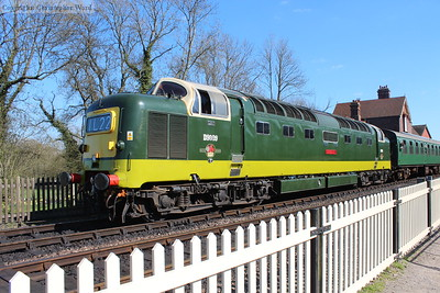 The enormous Deltic, a vision of power