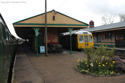 The unit pulls out of Horsted Keynes