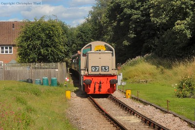 The Teddy Bear slows for the Groombridge call