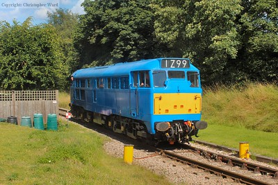 "31289 arrives as a ""thunderbird"" after a failure at Eridge with the class 14 (for the second time in the day)"