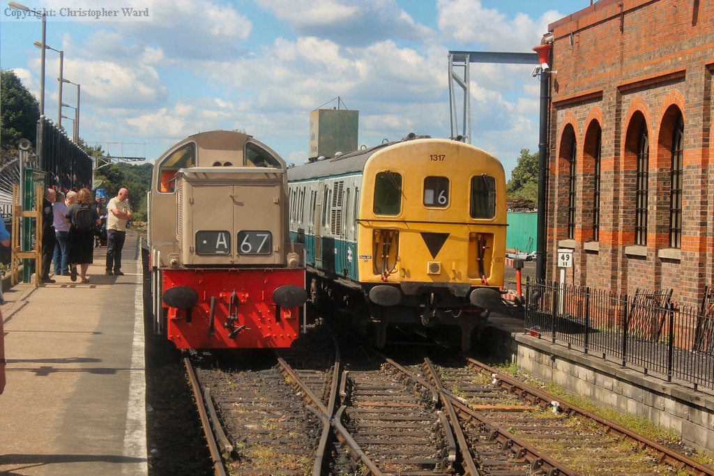 Each unique in design in their own way, the class 14 and Oxted Thumper