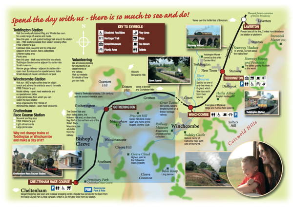 The GWSR's Route Map
