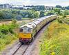 D6575 leaving Cheltenham Racecourse