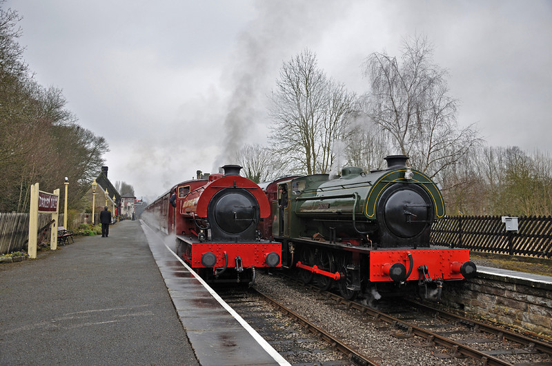 Mech Navvies and Lord Phil at Darley Dale