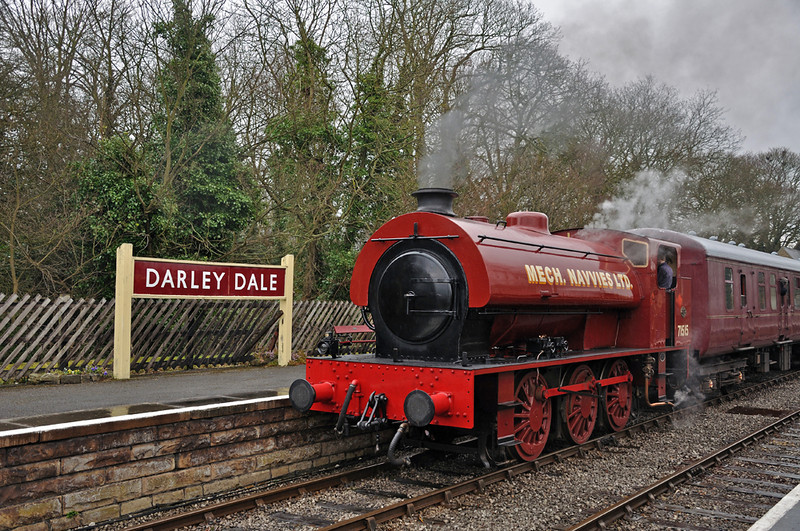 Mech Navvies at Darley Dale
