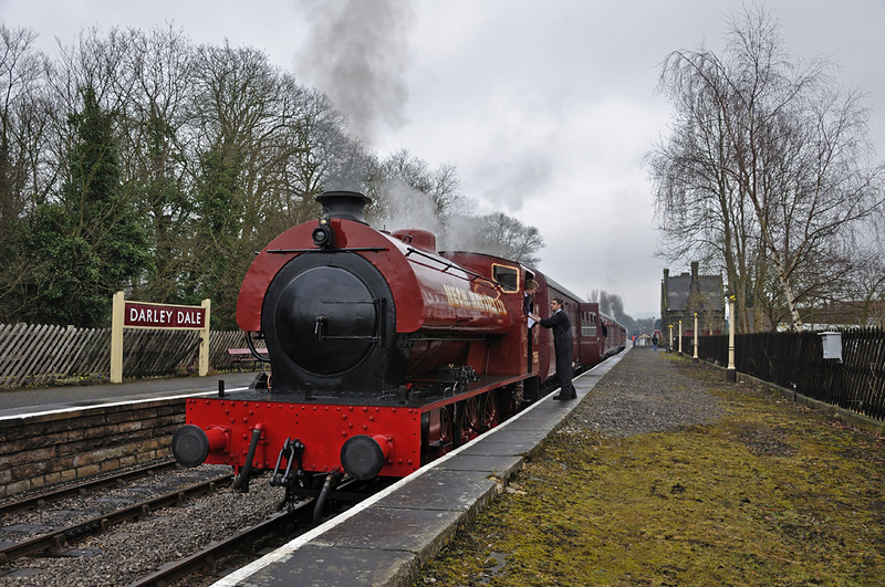 Mech Navvies, Darley Dale heading back to Rowsley