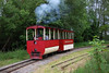 The steam Tram in action