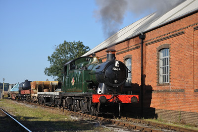 5637 at the East Somerset Railway