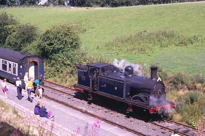 Caledonian 419 at Birkhill
