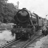 My father's black and white image of LMR 600 Gordon at the Open Day in 1968.