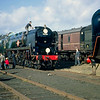 Another of my Kodakchrome slides of the 1968 Open Day at Longmoor, this time featuring 35028 Clan Line and the front of David Sheppard's Black Prince.