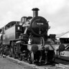 Ivatt 2-6-2 tank 41298 pictured at the Longmoor Open Day in 1968.