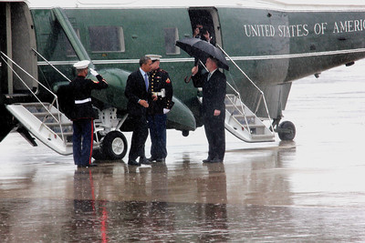 President Barack Obama departs Dix-McGuire-Lakehurst Military Base