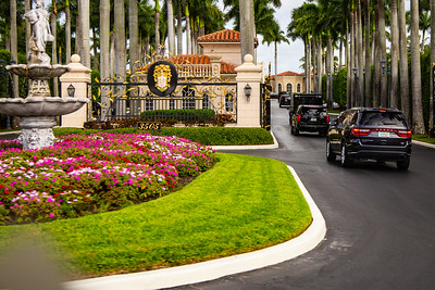 President Donald Trump spends the weekend in at Mar-a-Lago and Trump International Golf Club in West Palm Beach, March 30 & 31, 2019. (Joseph Forzano / Deep Creek Films & Photography)
