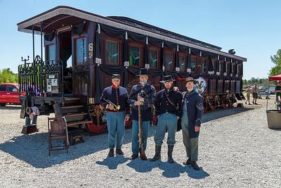President Lincoln Funeral Train Car 0037