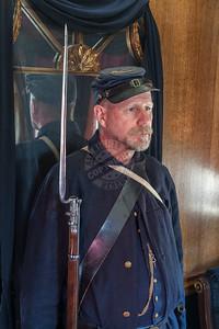 President Lincoln Funeral Train Car 0160