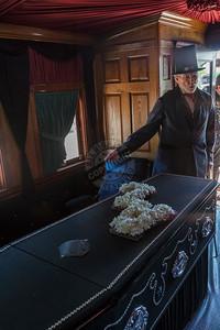 President Lincoln Funeral Train Car 0177
