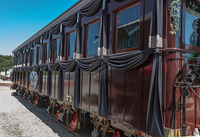 President Lincoln Funeral Train Car 0244