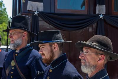 President Lincoln Funeral Train Car 0057