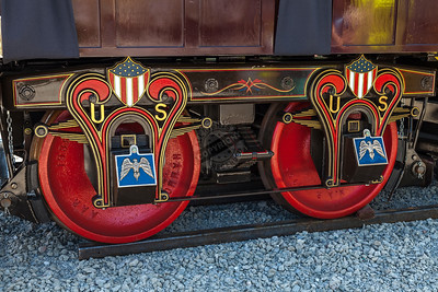 President Lincoln Funeral Train Car 0005