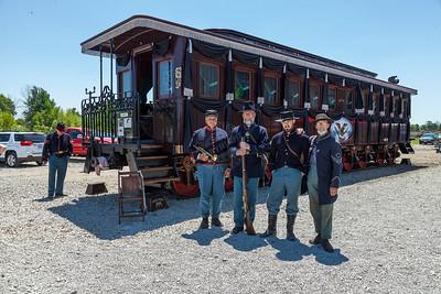 President Lincoln Funeral Train Car 0056