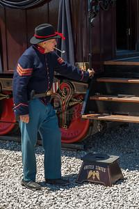 President Lincoln Funeral Train Car 0077