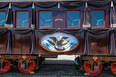 President Lincoln Funeral Train Car Replica Ken Busch Photography