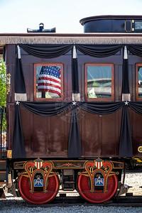 President Lincoln Funeral Train Car 0116