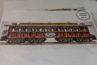 President Lincoln Funeral Train Car 0132