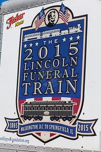 President Lincoln Funeral Train Car Replica