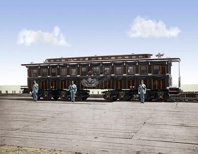 President Lincoln Funeral Train Car 0002