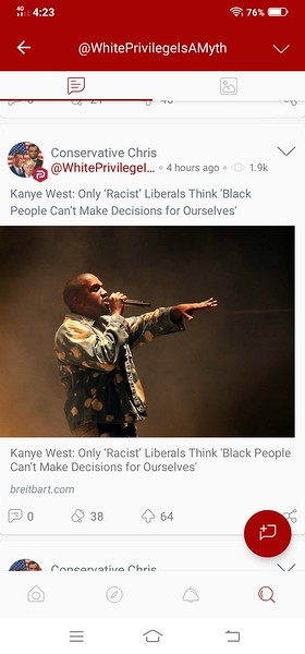 Read the Article here: https://www.breitbart.com/entertainment/2020/10/24/kanye-west-only-racist-liberals-think-black-people-cant-make-decisions-for-ourselves/