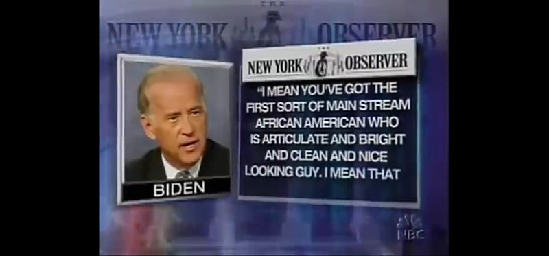 VIDEO Joe Biden History of Racism : https://youtu.be/jPUFwmZN9eo