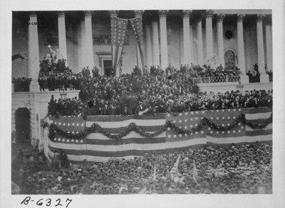 Ulysses S. Grant's 1st Inauguration.  The National Archive / Unwritten Record Blog https://unwritten-record.blogs.archives.gov/2017/01/10/a-look-at-inauguration-day-through-the-years-inaugural-photographs-and-facts/