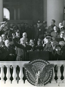 1941, Roosevelt's 3rd Inauguration  The National Archive / Unwritten Record Blog https://unwritten-record.blogs.archives.gov/2017/01/10/a-look-at-inauguration-day-through-the-years-inaugural-photographs-and-facts/