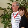 Ray Maranda with Sonya Christian.