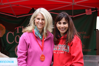 Israel Moran with Sonya Christian.