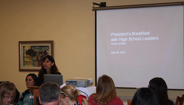 President's Breakfast - April 28, 2015