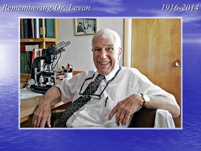 Dr. Norman Levan Life in Pictures