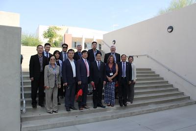 2017: Korean Delegation Visits Bakersfield College