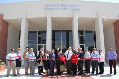 Simonsen Performing Arts Center Ribbon-Cutting; Apr. 21, 2015
