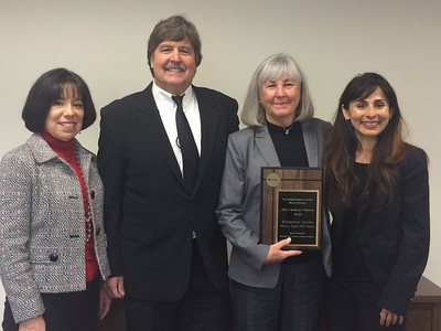 BC earns Board of Governors' Exemplary Program Award for Making it Happen, January 2015