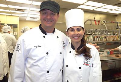 Sonya Christian and Chef Alex Gomez