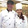 Sonya Christian and Chef Alex Gomez